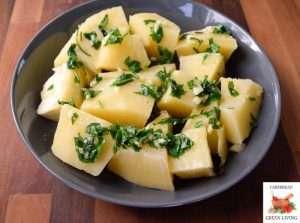 Breadfruit with Vinaigrette 3
