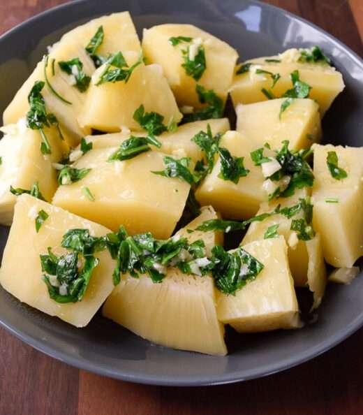 Breadfruit with Vinaigrette