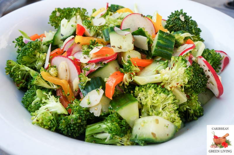 A quick and easy Broccoli Salad