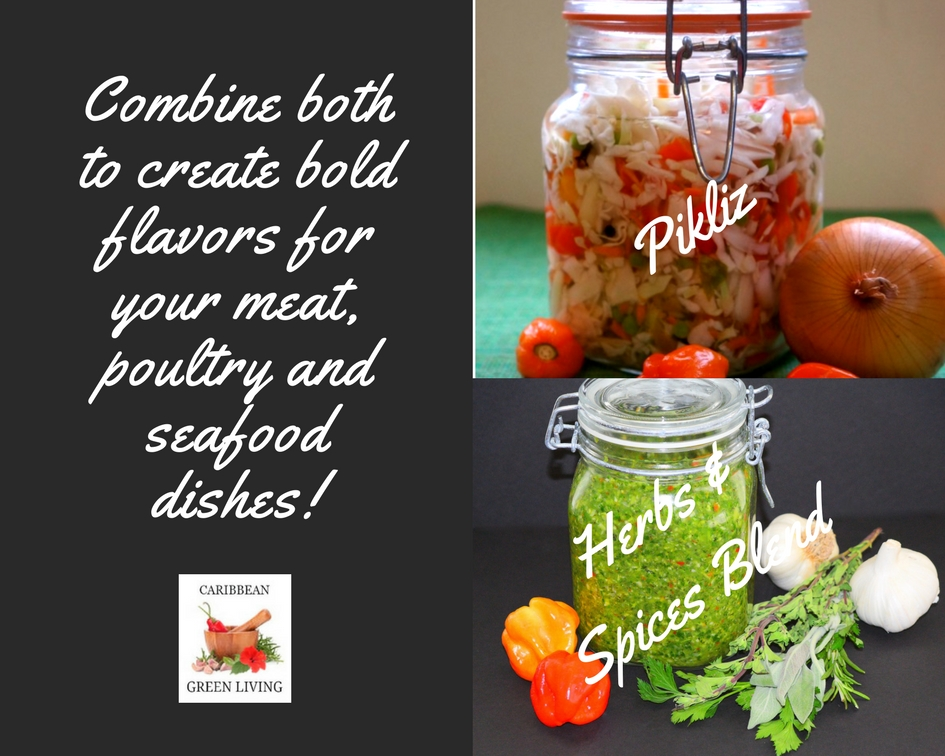 Pikliz and Herbs and Spices Blend