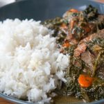 Lamb Stew with Spinach and Carrot