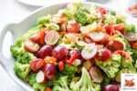 Broccoli and Grape Salad