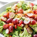 Easy and Healthy Broccoli and Grape Salad