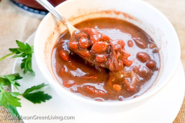 Red Kidney Beans Consomme or Puree