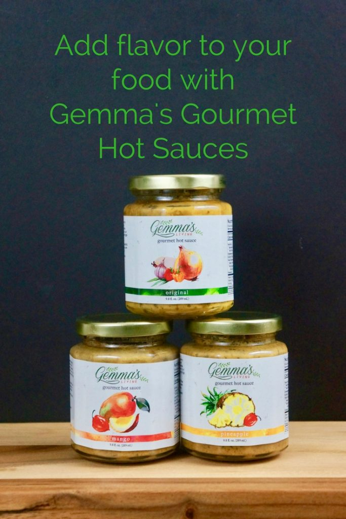 Add flavor to your food with Gemma's Gourmet Hot Sauces