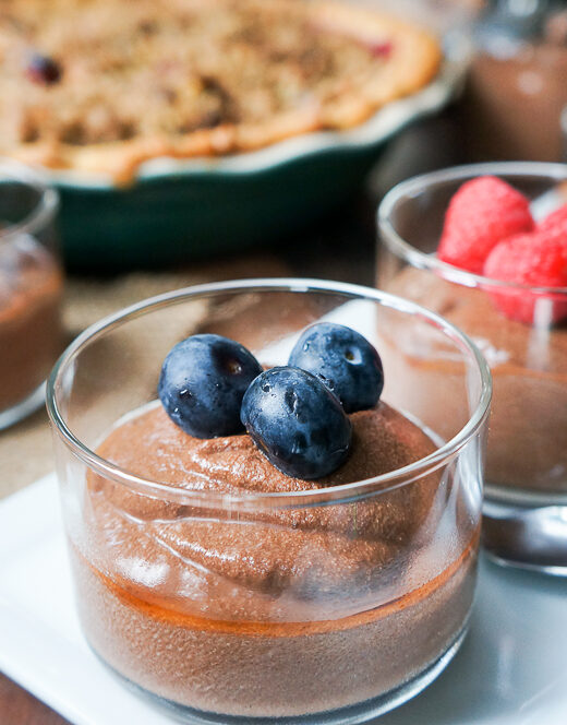 Chocolate Banana Tofu Pudding