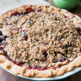 French Cranberry-Apple Pie