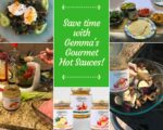 Save time with Gemma's Gourmet Hot Sauces