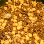 Spicy Chickpeas (Garbanzo Beans) With Ground Beef