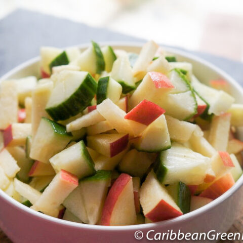 Cucumber and Apple Salad