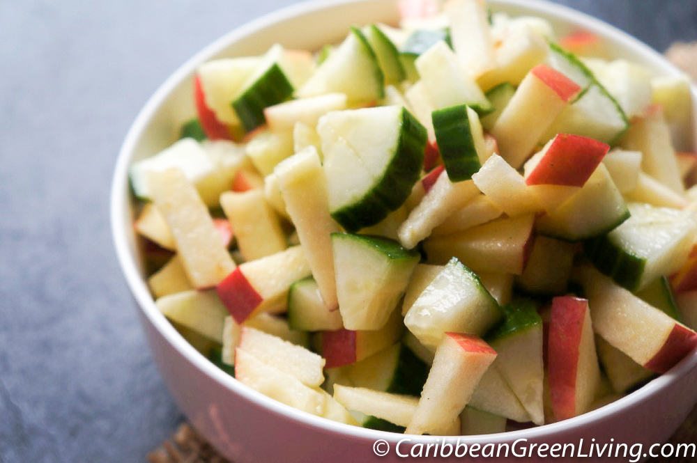 Cucumber and Apple Salad