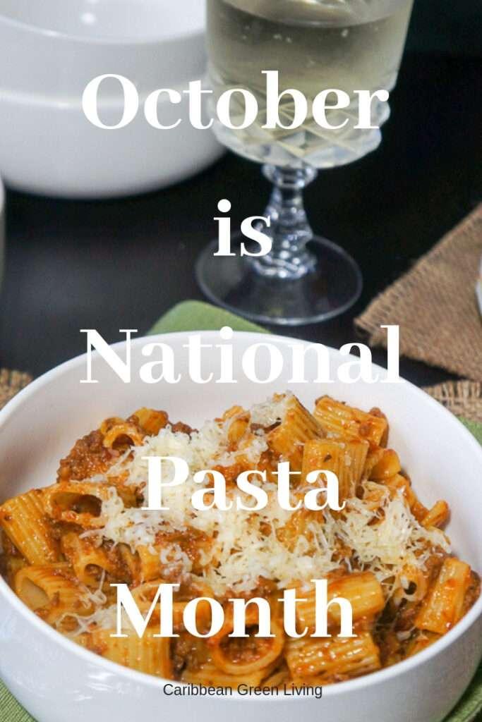 pasta month