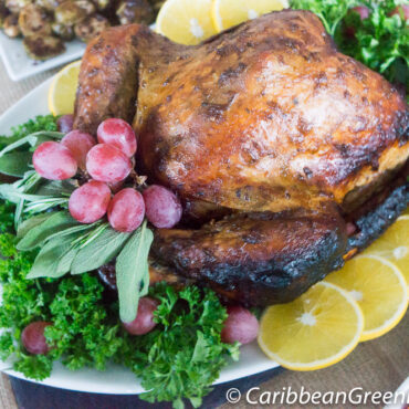 Tamarind Glazed and Spiced Turkey