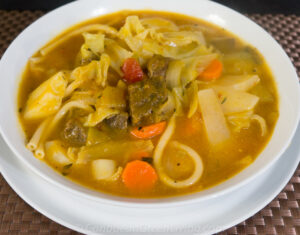 Calabaza Soup with Beef