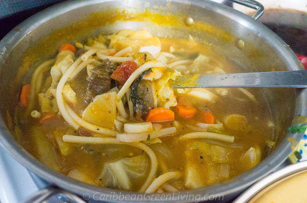 Calabaza Soup with Beef 15