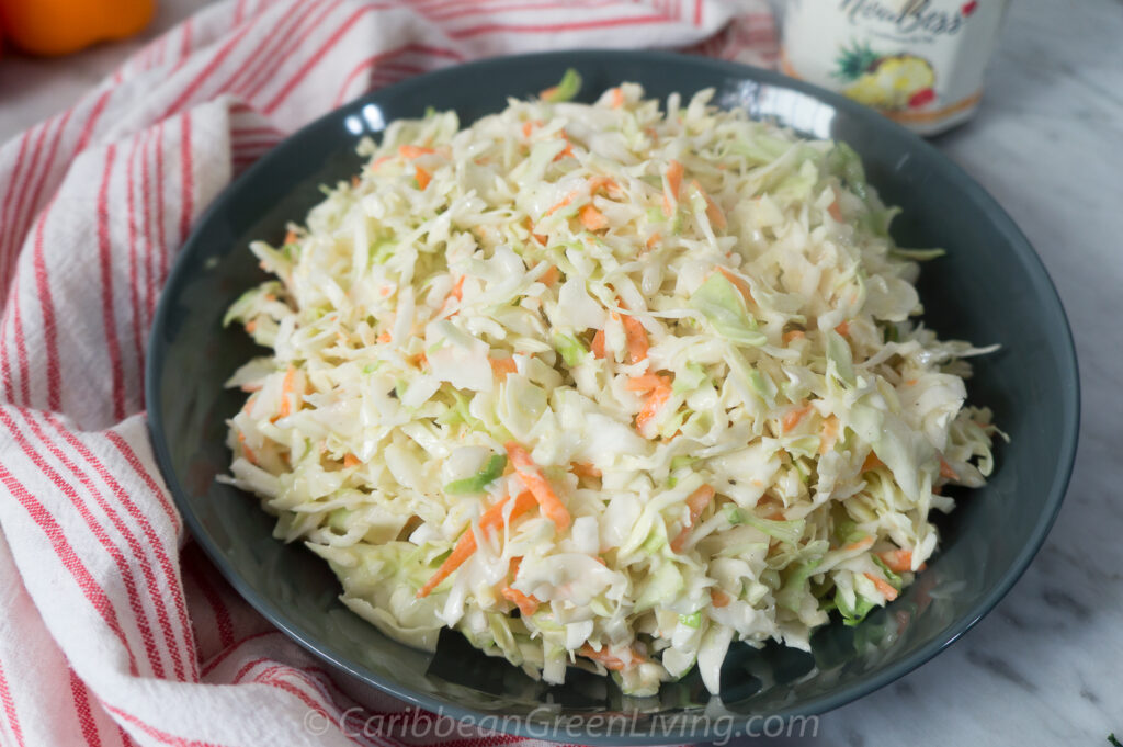 easy and quick coleslaw