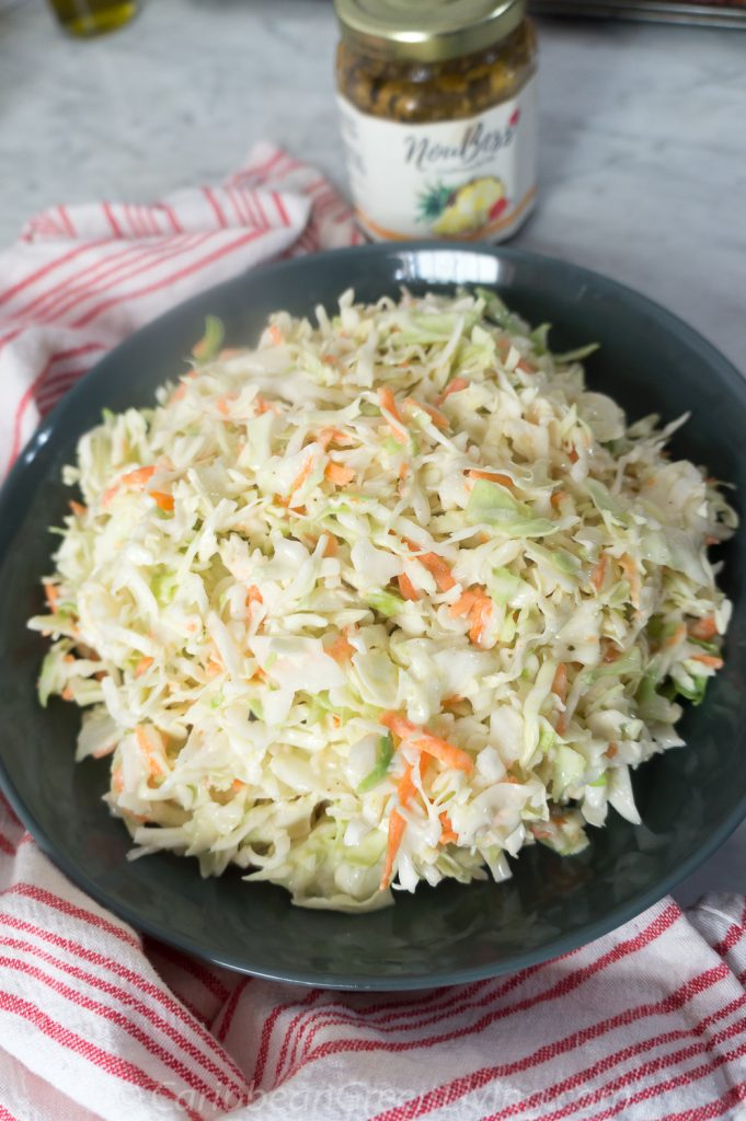 Easy and quick coleslaw recipe