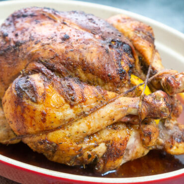 Perfect Roast Chicken with Noubess Seasoning