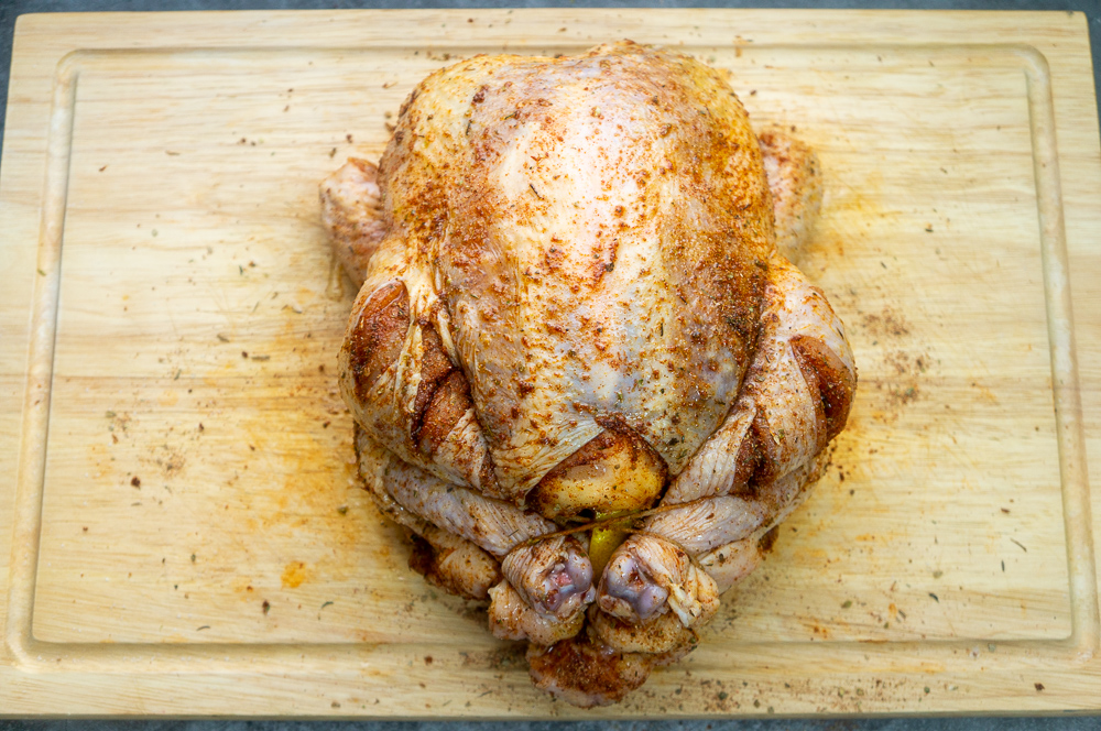 Roast Chicken seasoned