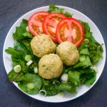 Baked Turkey Meatballs with Yellow Squash