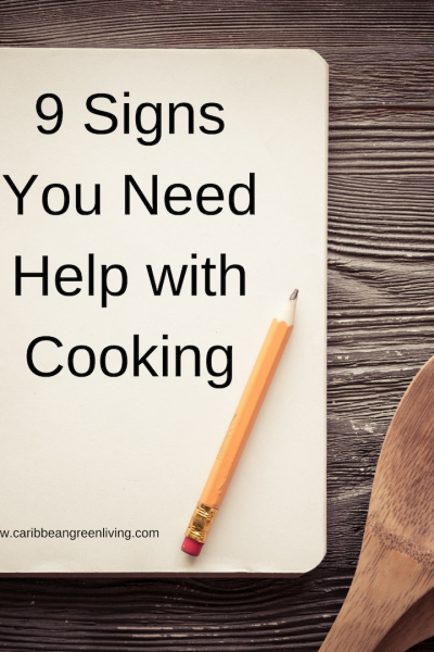 9 Signs You Need Help with Cooking