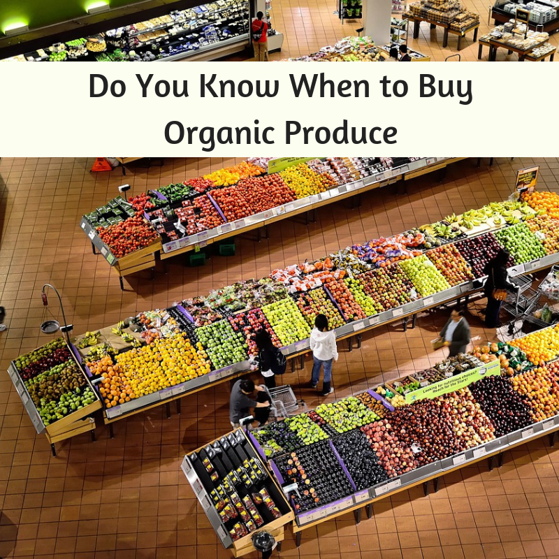 Do You Know When to Buy Organic Produce