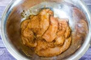 Grilled Chicken Breast in marinade
