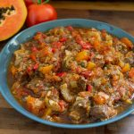 Green Papaya and Beef Stew