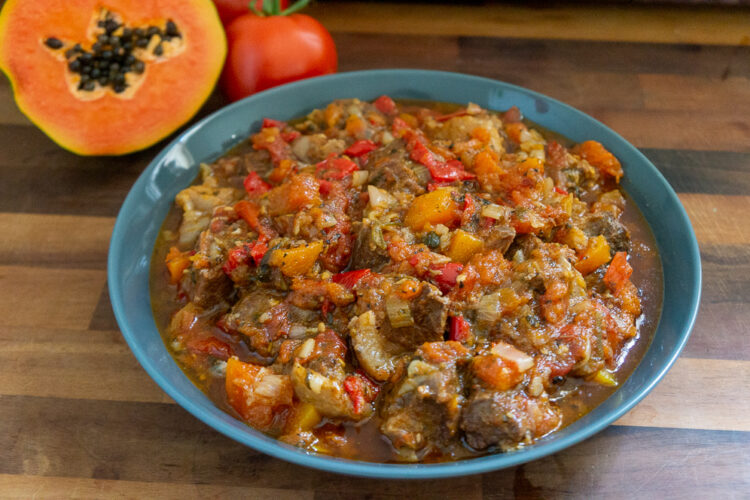 Beef and Papaya Stew 2