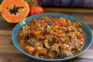 Beef and Papaya Stew