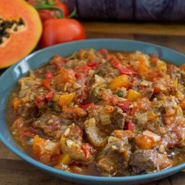 Beef and Papaya Stew