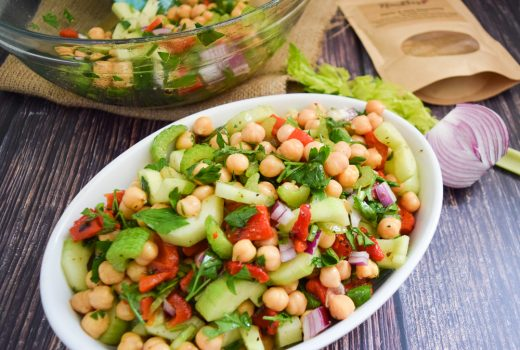 Chickpea Salad with Noubess Garlic and Herb Seasoning