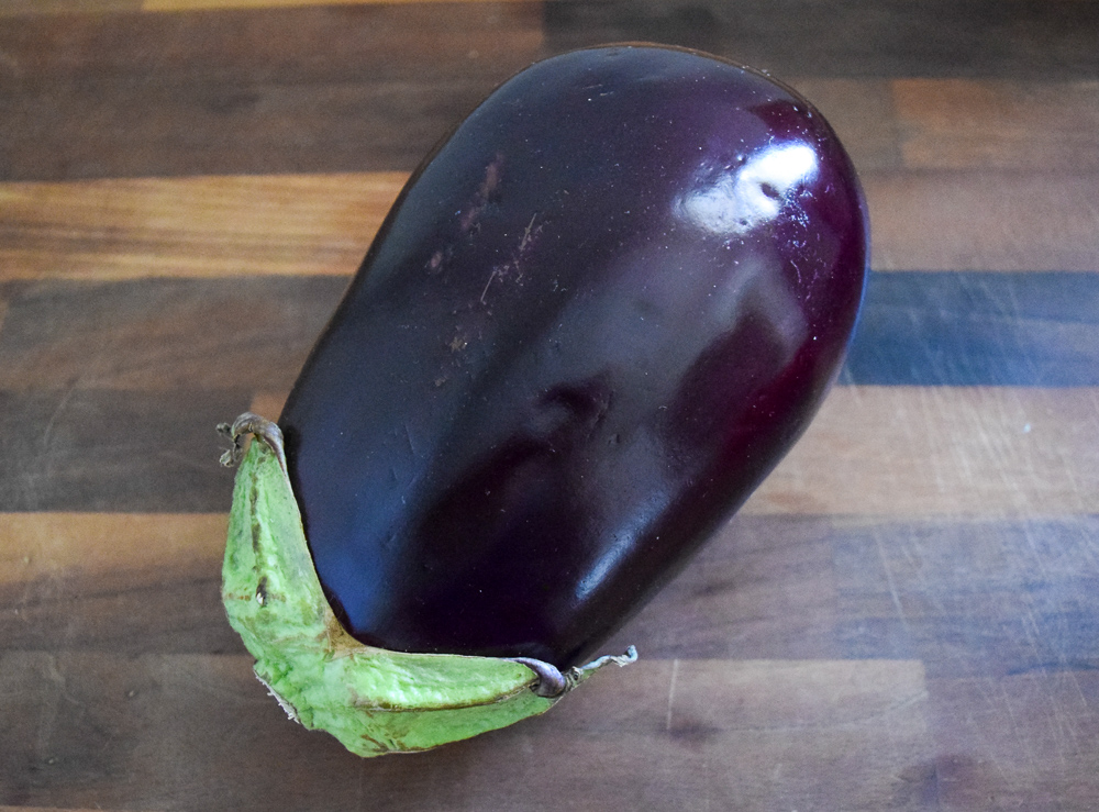Globe Eggplant for Eggplant Pizza