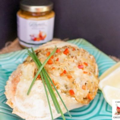A tasty and easy Stuffed Dungeness Crab recipe