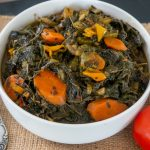 Meatless Jute Leaves Stew (Lalo Stew)