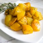 Easy Golden Roasted Beets for Two