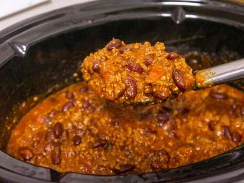 Easy Crockpot Chili Recipe