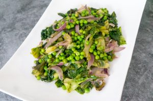 Green Peas and Escarole Recipe