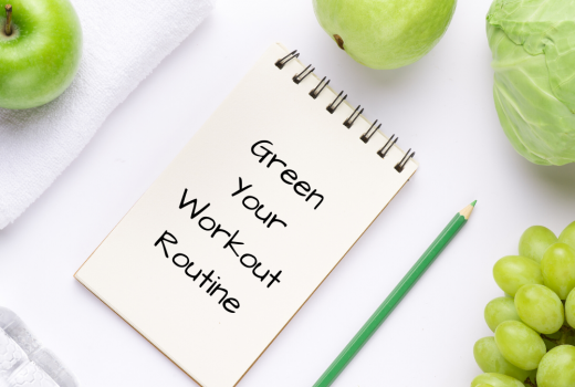 Green Your Workout Routine - healthy exercise routine