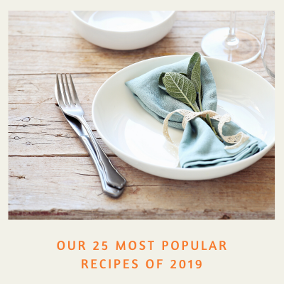 Our 25 most popular recipes of 2019