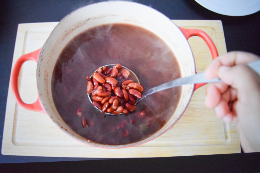 how to boil dry beans