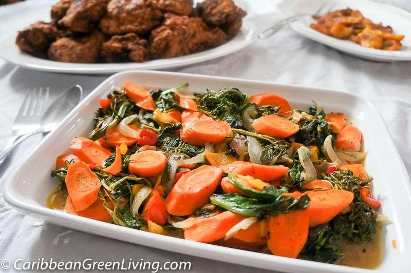 Sautéed Carrots Kale and Watercress 2