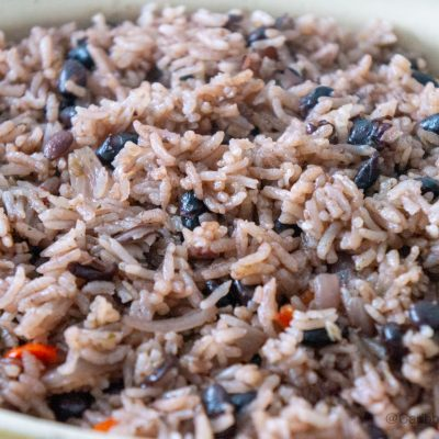 Rice and Black Beans