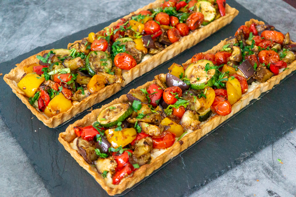Vegetables Tart with Feta Cheese2