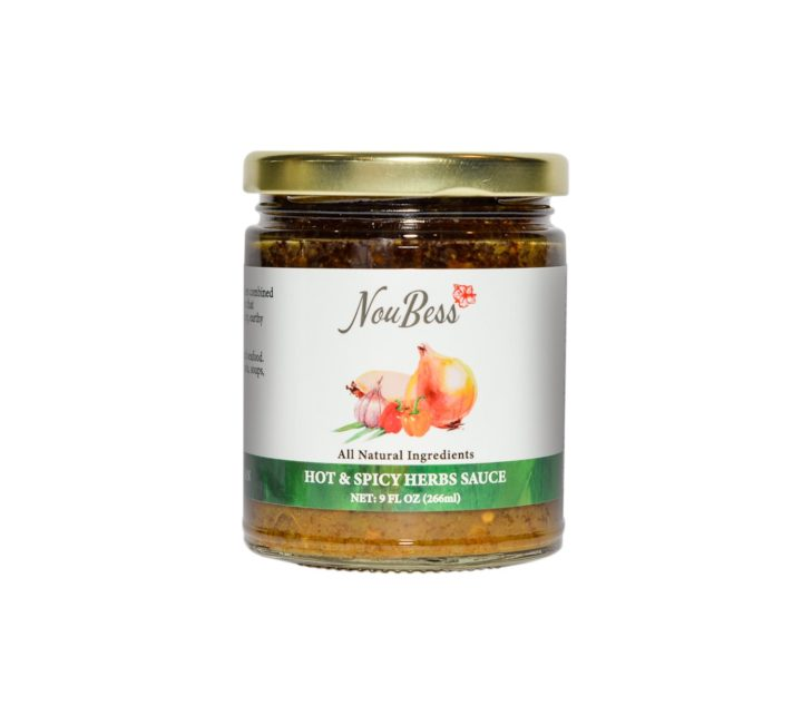 Original Hot and Spicy Sauce with Herbs Sauce - NouBess