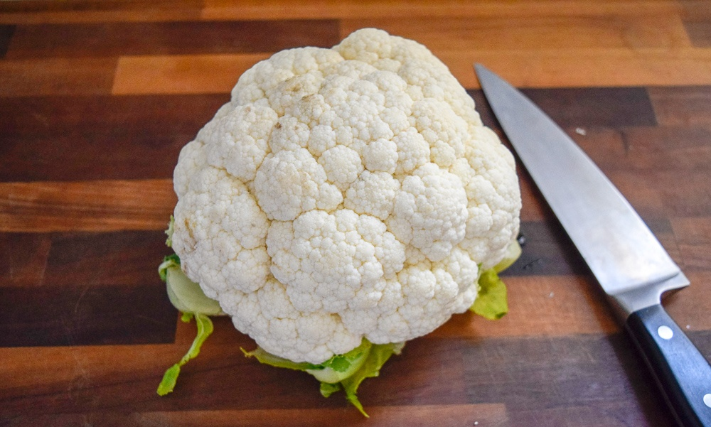 Roasted Cauliflower Steak