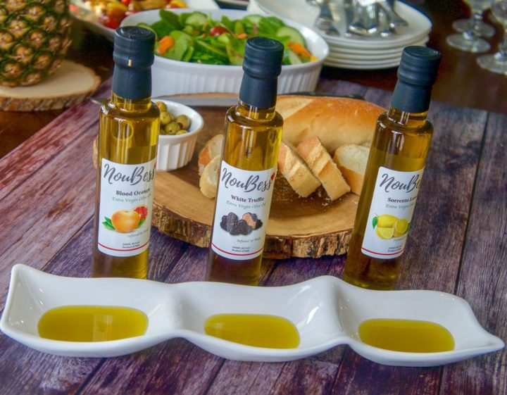 Lemon Infused Extra Virgin Olive Oil - NouBess