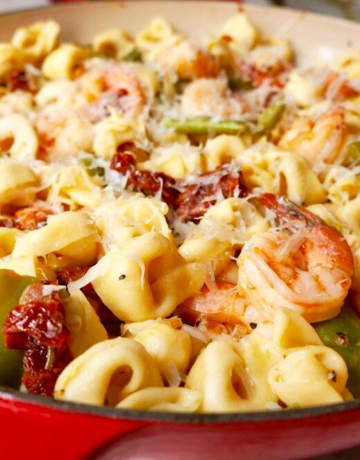 Tortellini with Shrimp