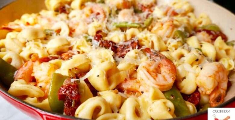Tortellini with Shrimp