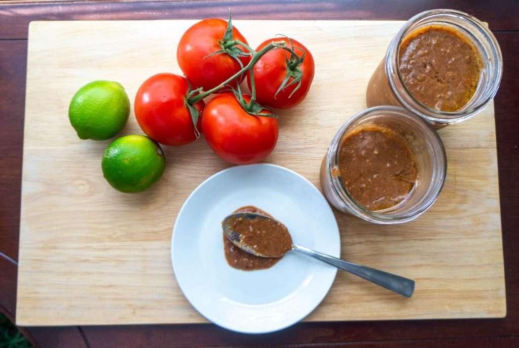 Quick homemade tomato sauce